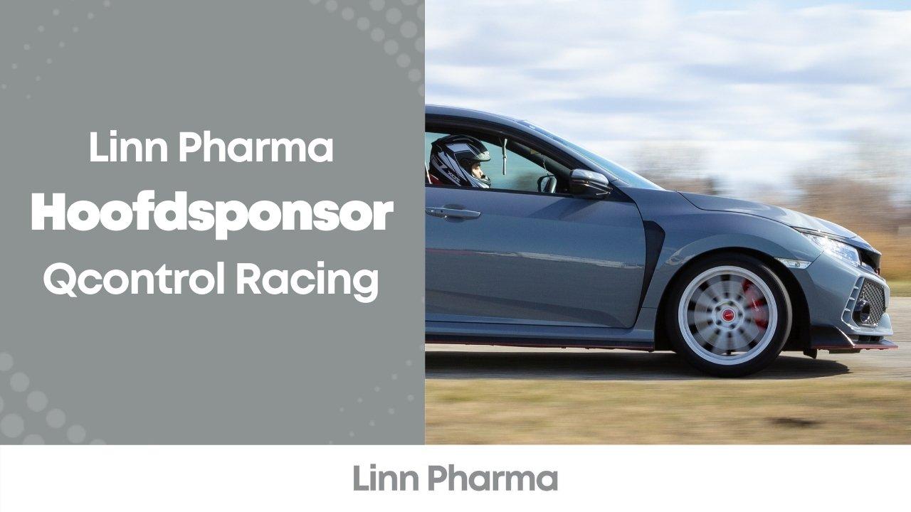 Linn Pharma hoofdponsor QControl Racing